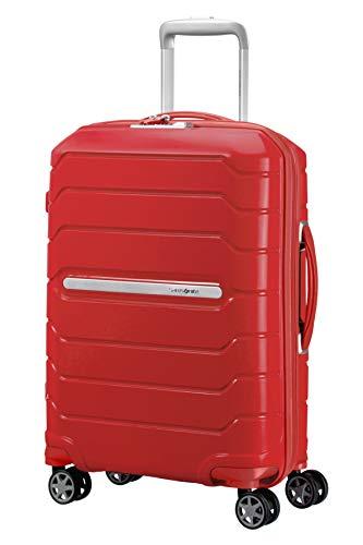 SAMSONITE Flux - Spinner Koffer, 55 cm, 44 Liter, Red