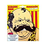 Strongman Fancy Dress Moustache Tash Tache