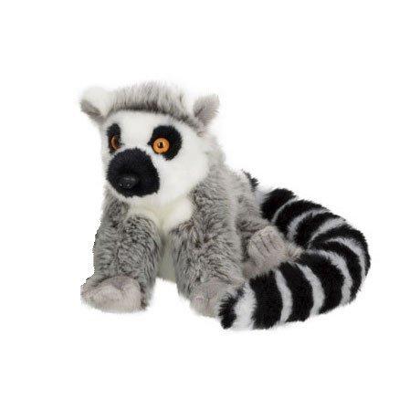 (WWF Plüschtier Lemur (15cm) Kuscheltier Stofftier Affe Äffchen NEU)