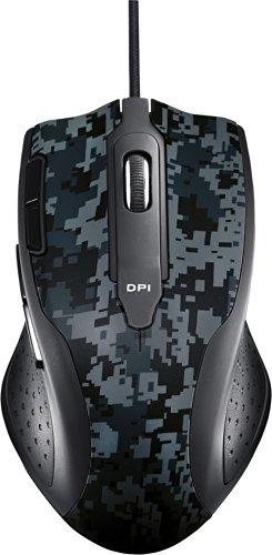 Asus Echelon Gaming Maus (USB, bis zu 5600 dpi, anpassbare Gewichte) schwarz