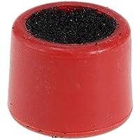 P Prettyia Billar/Pool/Snooker Cue Tips Stick Cue Atención Bastidor Scuffer Herramienta de Reparación de Herramienta de Punta de Taco de Billar de Plástico - Rojo