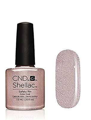 CND Shellac Contradicitons Collection - NEW for Autumn 2015 - UV Soak Off Gel Nail Polish/Varnish (Safety Pin - 1 bottle)