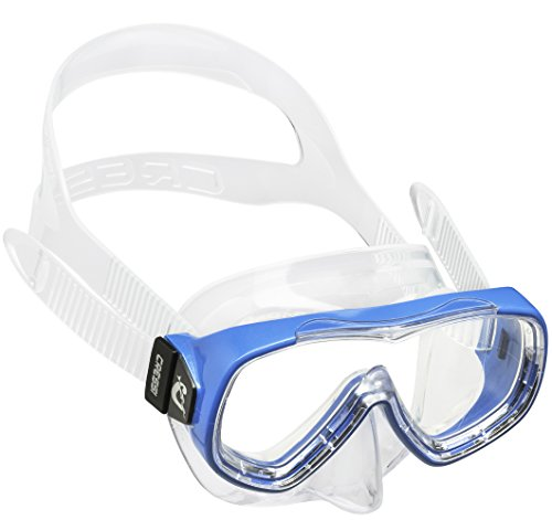 ta Kid Mask Tauchmasken, Clear/Blau, 3-7 Jahre (La Jahr)