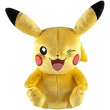 Tomy Pokemon–Pikachu de peluche para niños de 3años–que ríe t71799A2aproximadamente 45cm