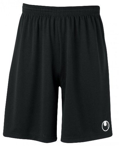 uhlsport Herren Center Ii Shorts mit Innenslip, Schwarz, L