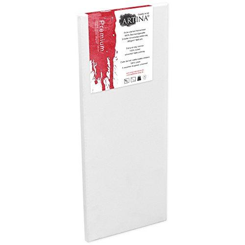 Artina Premium - 50x150cm - Lienzo Blanco Pintar -
