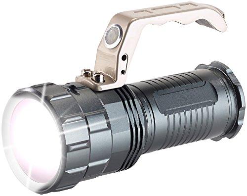KryoLights Extrahelle Akku-LED-Handlampe TRC-410 CREE LED, 550lm, 10W, IP44 - 4