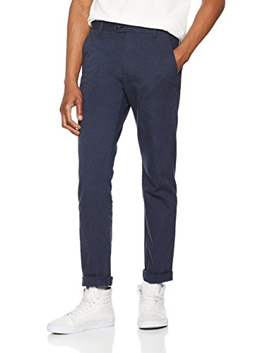 find-cotton-design-herringbone-fmt2838-slim-pantalon-homme-bleu-navy-xxxx-large-taille-fabricant-44