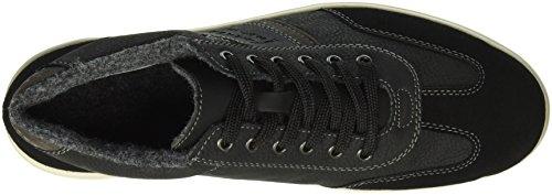 Rieker 124, Sneakers Hautes Homme Noir (Schwarz/Schwarz/Fumo/Schwarz/00)