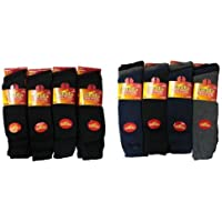 6pairs Mens Long Chunky Thermal Socks Walking Hiking Winter Warm Work Socks UK Shoe Size 6-11