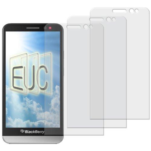 3 x Displayschutzfolie matt/entspiegelnd für Blackberry Z30