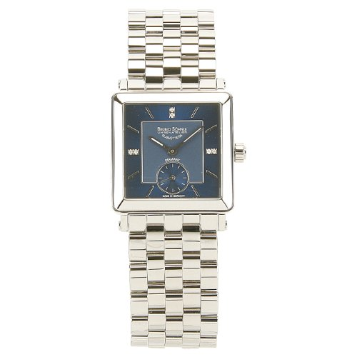 Bruno Söhnle Women's Quartz Watch with Silver Gran DEZZA Analogue Quartz Stainless Steel 17/13120 392