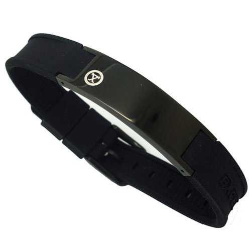 magnetic-energy-golf-bracelet-shiny-dark-black-with-box