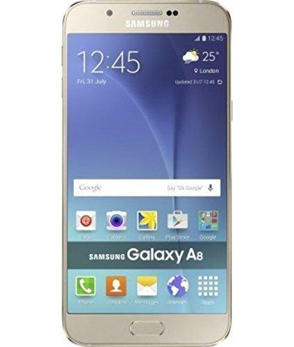 Samsung Galaxy A8 SM-A800I (Gold) - Factory Unlocked