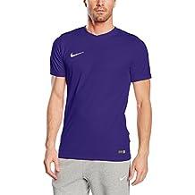 Nike Park VI Camiseta de Manga Corta para hombre, Morado (Court Purple/White