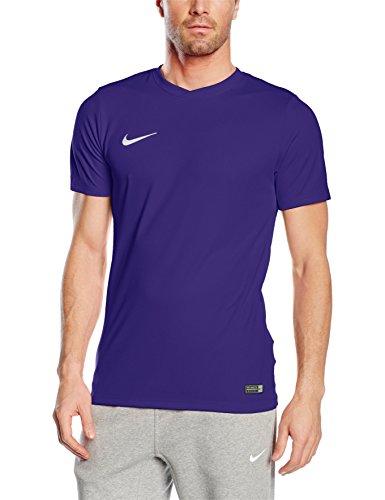 NIKE Herren Kurzarm T-Shirt Trikot Park VI, Violett (Court Purple/White/547), Gr. XL