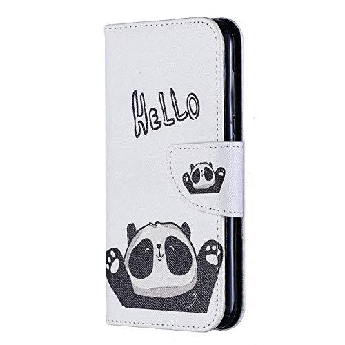 Lomogo Cover Nokia 4.2, Custodia Portafoglio in Pelle Porta Carta di Credito con Chiusura Magnetica per Nokia4.2 - LOBFE090181 L1