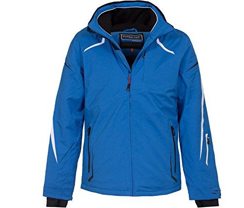 Bergson Herren Skijacke Valley - elastisch, wasserdicht, Winddicht, atmungsaktiv,warm, Wassersäule:...