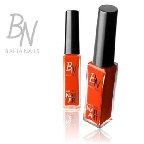 Bahia nails®-smalti nail art liner striper arancione fluo n ° 03
