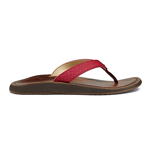 Women Olukai 43fc Pua Red bean Deep w5wZUqSY