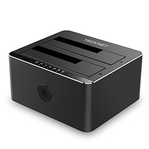 TeckNet USB 3.0 Non In Linea Clone 2-Bay Docking...