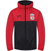 Liverpool FC - Chaqueta cortavientos oficial - Para niño - Impermeable -  Estilo retro 8169816802cf7