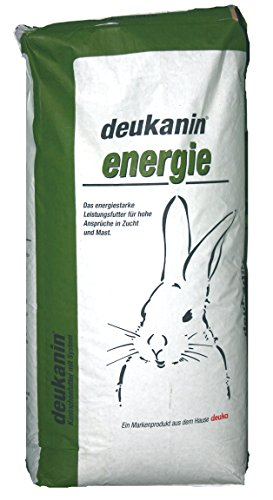 Deuka Energie 25 kg Kaninchenfutter Zucht und Mast Pellets