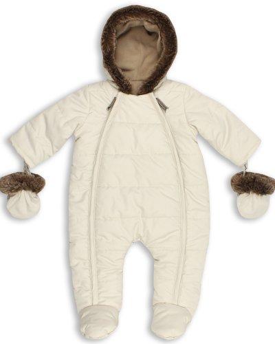 The Essential One - Trajes de Nieve Abrigo para bebé - crema - acolchado - 12-18 Meses EO138