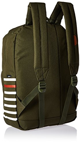 Herschel Casual Tagesrucksack, Focus (blau) - 10076-01415-OS forest night offset stripe