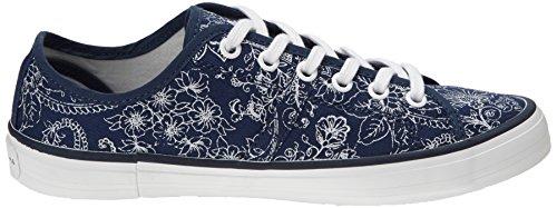 Pepe Jeans Cherry Bandana Print, Baskets mode femme Bleu (575)