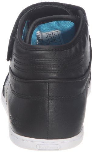 Boxfresh Switch Leather, Chaussures à lacets hommes Noir (Black Cyan)
