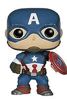 Funko Pop! - Bobble: Marvel: Avengers AOU: Capt...
