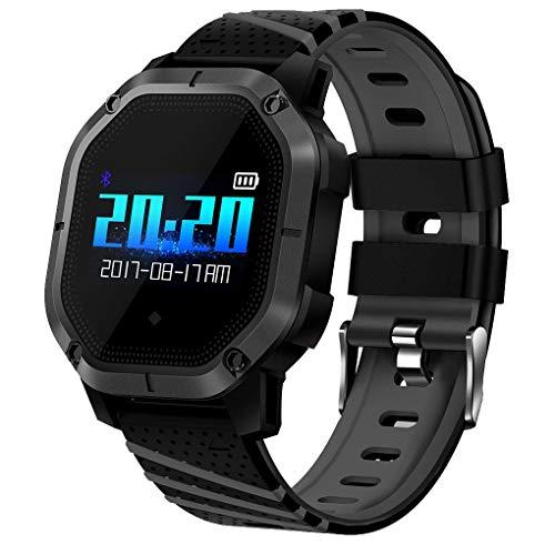 Busirde 1-Zoll-OLED-Bildschirm Fitness Tracker Pedometer Schlafanalyse Erinnerung Uhr, Pedometer Call Reminder Bluetooth Smart Watch