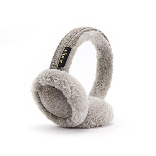 Ohrenwärmer in 5Farben–Klassische Unisex-Ohrenwärmer, Ohrwärmer für Sport im Freien & persönliche Pflege., grau, Large (Amp Snowboard)