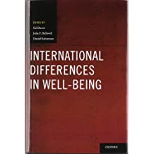 International Differences in Well-Being (Series in Positive Psychology)