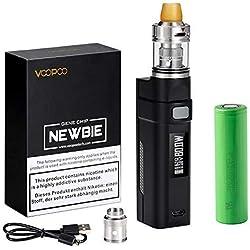 Brurkim Sigaretta Elettronica 5-80W, Smart Mini Svapo Kit, Ricaricabile 2800mAh Batteria/Top Fill 2.0ml Atomizzatore Sigaretta Elettronica/SS 0.5oHm Resistenza- Svapo, Senza Liquido, Senza Nicotina