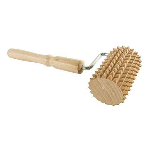 Holz Massage Roller mit Griff/Akupressur/tragbar/Gesundheit