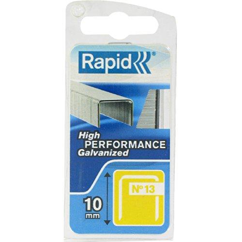 Agrafe n°13 Rapid Agraf - Hauteur 10 mm - 1100 agrafes
