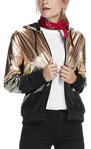 Scotch & Soda Maison Damen Jacke Sporty Lightweight Colourblocked Jacket with Metallic Detail