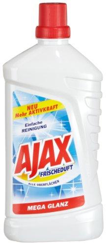 Ajax Frischeduft Allzweckreiniger, 4er Pack (4 x 1000 ml)