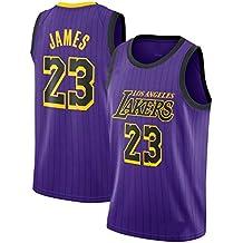 CRBsports Lebron James, Jersey De Baloncesto, Lakers, Edición De Ciudad, Tela Bordada