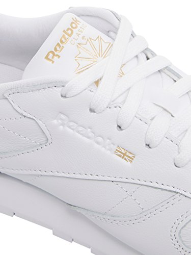 Reebok Damen Classic Leather Hardware Laufschuhe Elfenbein (Whiterose Gold)