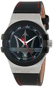Maserati - R8851108001 - Montre Homme - Quartz Analogique - Bracelet Plastique Noir