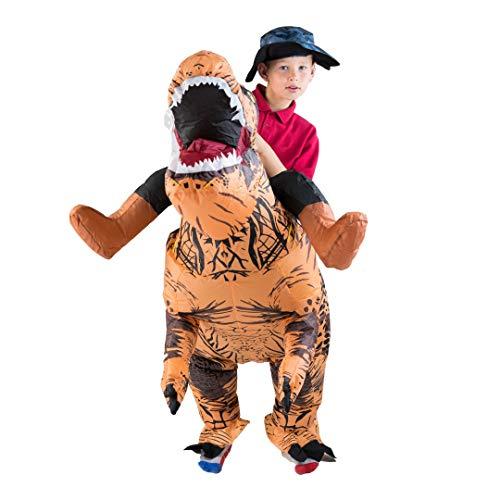 Bodysocks® Aufblasbares Deluxe Dinosaurier Kostüm für ()