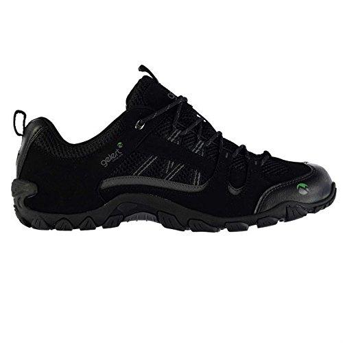 Gelert Mens Rocky Lace Up Breathable Outdoor Walking Trekking Hiking Shoes Black UK 9 (43)