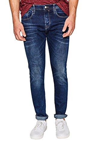 edc by ESPRIT Herren Skinny Jeans 087CC2B012, Blau (Blue Dark Wash 901), W36/L36 Preisvergleich
