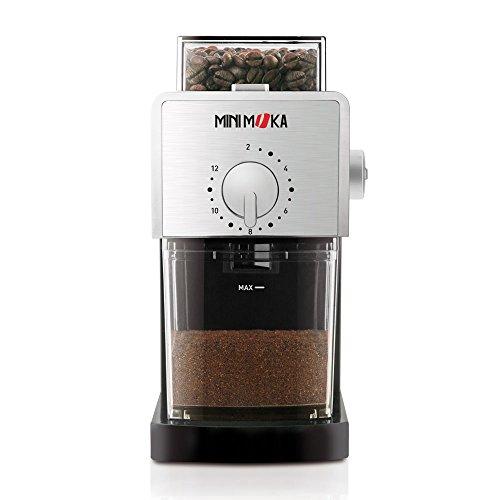 Mini Moka GR-0278 - Molinillo de café con sistema de fresas
