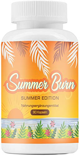 Summer Burn | Because summer bodies are made in winter! | 100% naturale | 90 capsule