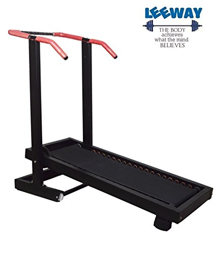 Leeway Manual Treadmill Walk Or Run Foldable Jogger Fitness Loose Weight For Home Gym/Cardio  available at amazon for Rs.9449