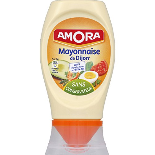 Amora - Mayonnaise à la moutarde de Dijon - Le flacon de 235g - (for multi-item order extra postage cost will be reimbursed)